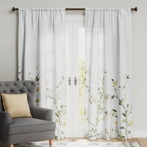 Threshold | 2 NWT Light-Filtering Curtains Floral